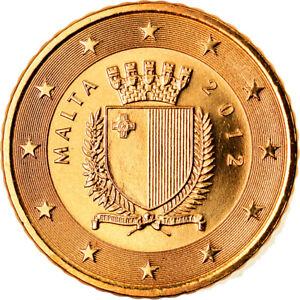 [#792888] Malte, 50 Euro Cent, 2012, Paris, BU, FDC, Laiton, KM:130