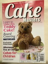 CAKE MASTERS MAGAZINE,  May, 2014   ISSUE, 20  Learn To Make TEDDY CAKE * NEW