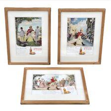 More details for framed johnnie walker whisky advertising prints