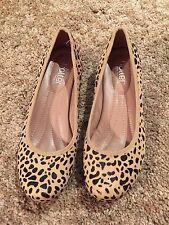 Hotter Comfort Concept Ladies Flats Leopard Print UK Size 4