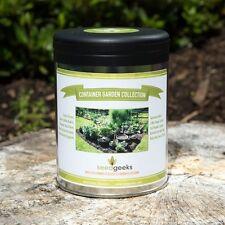 Container Garden Heirloom Seed Bank Collection -NonGMO - Garden Gift - FREE SHIP