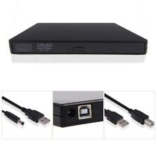 USB 2.0 External DVD Combo CD-RW CD±RW Burner Drive ROM Player PC MAC 【Black】