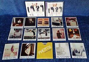 TAYLOR SWIFT - 1989 - BIG MACHINE - CD, SLIPCASE, 14 PHOTOS - TARGET EXCLUSIVE