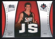 JASON SMITH 2007/08 ULTIMATE COLLECTION RC ROOKIE DUAL RELIC 76ERS JERSEY SP $15