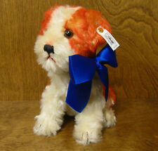 "Steiff #400889 MOLLY HUND LE mohair 8.5"" neck  jointed Replica From Retail Shop"