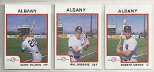 1987 Pro Cards Albany Colonie Yankees 29-card Minor League Team Set  Rob Geren