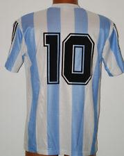 maglia DIEGO MARADONA ARGENTINA SHIRT CALCIO FOOTBALL MAILLOT JERSEY CAMISETA