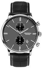 Sekonda Mens Grey Dial Chronograph Quartz Watch 1509
