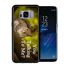You Talking To Me Squirrel In A Tree For Samsung Galaxy S8 2017 Case Cover by At