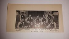 Juniata College 1909-10 Basketball Team Picture