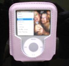 $25 BELKIN Leather Case for Apple IPOD Nano 3G Video 3rd Gen ~ LAVENDER Beauty!