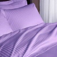 1000 Thread Count Egyptian Cotton Scala Bedding Items All Sizes Lilac Striped*