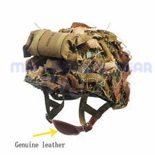 WWII ARMY US M1C CAMOUFLAGE TACTICAL HELMET PARATROOPER AIRBORNE MILITARY SUIT