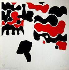 VERA ILCE CRUZ,*PELÉ in Red & Black* 1972, Limited Edition Serigraph, FOOTBALL