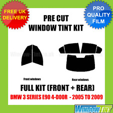 BMW 3 Series E90 4-door 2005-2009 Full Pre Cut Window Tint Kit