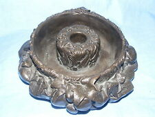 pendelfin metallion BRONZO FUSIONE A FREDDO foglia di edera Posy anello