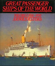 GREAT PASSENGER SHIPS OF THE WORLD 1936-1950, Vol 4, KLUDAS, NEW BOOK / Offer?