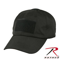 Operator Cap Tac Ops Tactical Baseball Style Cap w/ Front Hook Patch Panel