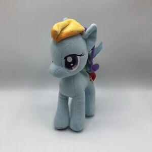 "My Little Pony Rainbow Dash Plush 2014 11"" Blue Pegasus Rainbow Hair"