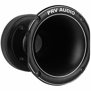 "PRV Audio WG2500Ti 2"" Titanium Horn Compression Driver Combo 8 Ohm"