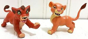 RARE Disney The Lion King 2 II Mattel Cub KOVU & KIARA Figures 1998 Vintage HTF