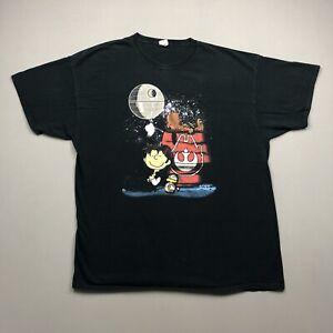 Peanuts Star Wars T Shirt Sz 2XL