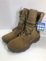"Under Armour FNP Tactical Combat Boots 8"" Coyote Brown Men sz 14 NEW 1287352-728"