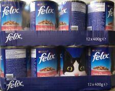 Purina Felix mit Lachs& Forelle in Gelee 2x12x400 gr