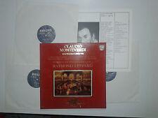 Claudio Monteverdi – Madrigali Libro VIII -Dischi Vinile 3 LP+Box Stampa OLANDA