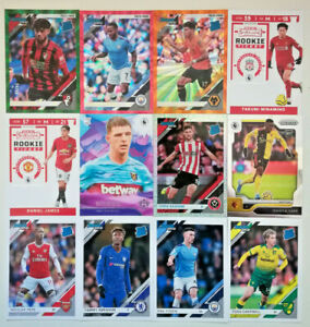 Chronicles Soccer 2019-20 Premier League INSERTS PRIZM ROOKIE TICKET ORANGE KING