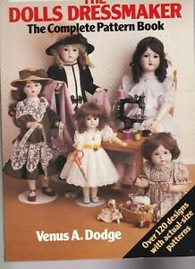 doll clothes pattern book    The Dolls Dressmakes     Venus A Dodge