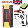 82800mAh Car Jump Starter 600A Booster 4 USB Power Bank Battery Charger SOS Lamp