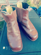 BAXTER SQUARE TOE BOOTS SIZE UK7.5