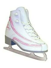 American Ice Skates Style 516. Size 2. Pink Candy Figure Skates