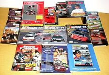 "20 NASCAR/RACING COLLECTIBLES>DVD""s/BOOKS/VHS's/MAGS >FREE U.S. SHIPPING"
