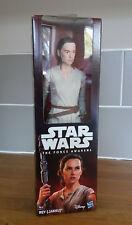 "Star Wars The Force Awakens Rey Jakku 12"" 12 Inch Hasbro Figures with weapon NEW"