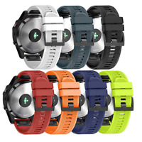 For Various Garmin SmartWatch Strap Silicone Fitness Quick Release Sports Band