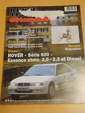 RTA revue technique n° 584 ROVER série 600 essence atmo.2.0 / 2.3 et diesel