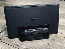 Sony iPhone iPod Clock Radio Speaker Dock Icf-Cs15iP Dream Machine Lightning Adp