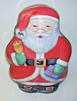 Santa Claus Tin Box Christmas