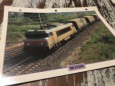 081 locomotive BB22200 1976 Fiche collection ATLAS trains de légende BB 22200