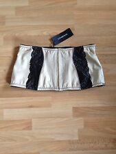 BNWT Ladies Charnos Hourglass Gold & Black Lace Waist Cincher-Size 18,RRP £29.95