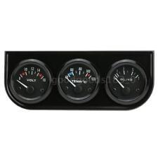52mm Gauge Triple température de l'eau de pression d'huile de voiture Jauge G8V9