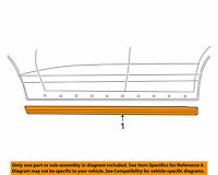 Ford 3W1Z5410176BAA Lincoln OEM Town Car Ext.-Rocker Panel Molding Trim Right