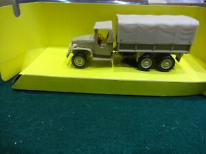 Solido EXTREMELY RARE GMC 2.5 TONNE SAND COLOUR TRUCK NEW Boxed