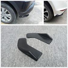Pair Universal Polyurethane Car Rear Lip Wrap Angle Splitters Decorative Winglet