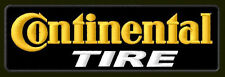 """CONTINENTAL TIRE EMBROIDERED PATCH ~5"""" x 1-5/8"""" TYRES BORDADO PARCHE AUFNÄHER"""