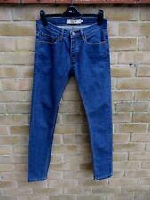 Topman Blue Denim Stretch Skinny Jeans Size 28 S