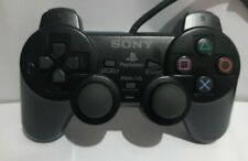 Official Playstation 2 PS2 Black Controller Dualshock 2 Tested Fully Working