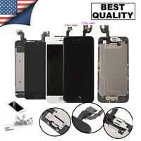 For iPhone 5/6/6s/7/8 Plus LCD Display Screen Digitizer Replacement Parts+Button